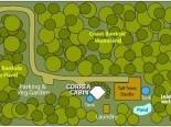 Venys Bay Eco Retreat site map