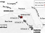 Venus Bay Locality Map
